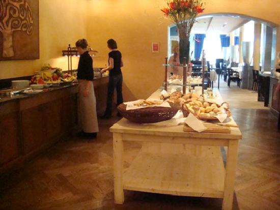 Lenkerhof gourmet spa resort: Breakfast Buffet