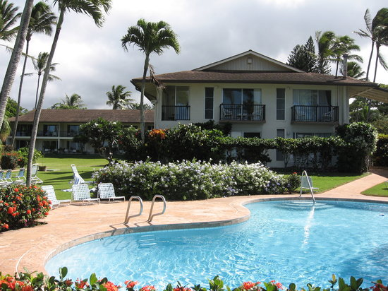 Napili Surf Beach Resort: Unit 207 - yes the whole top floor