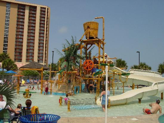 Hilton Myrtle Beach Resort: Awesome kids water area.