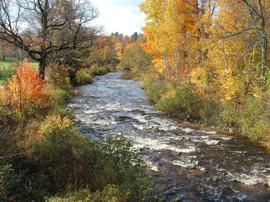 Jackson, NH: Nearby river
