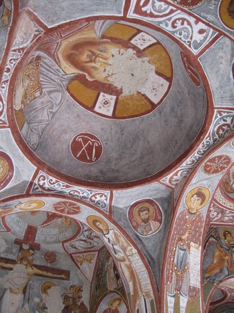 the painted rock chapels of Goreme
