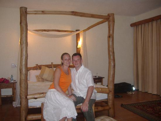 The Baobab - Baobab Beach Resort & Spa: The two of us in our Kole Kole room
