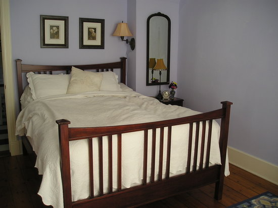 Phoenicia Belle: the comfy bed