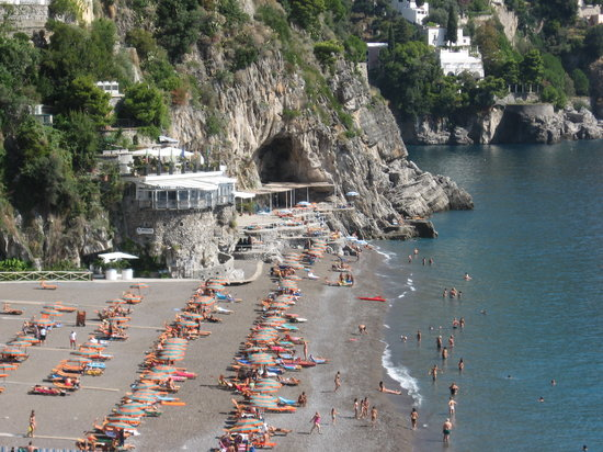 positano beach