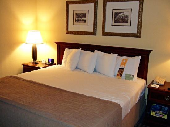 Wyndham Las Colinas: Comfy Kind bed and Pillows