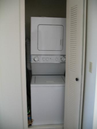 apartment size washer dryer upstairs