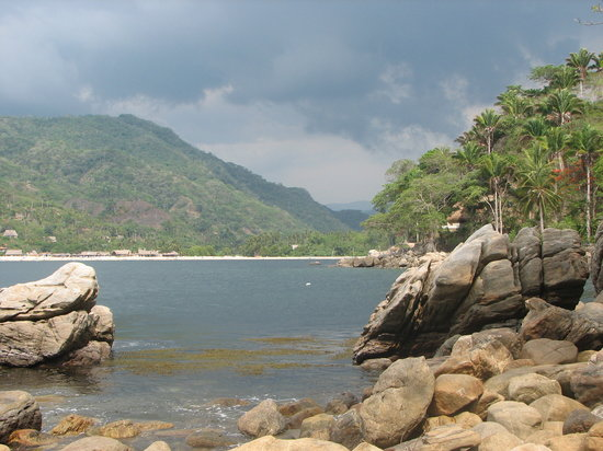 Yelapa, Meksika: the bay
