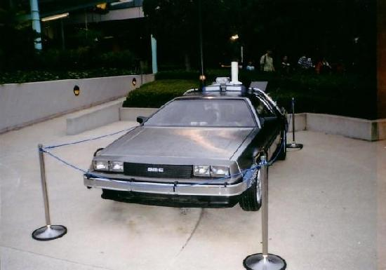 delorean back to future. The DeLorean car from Back to