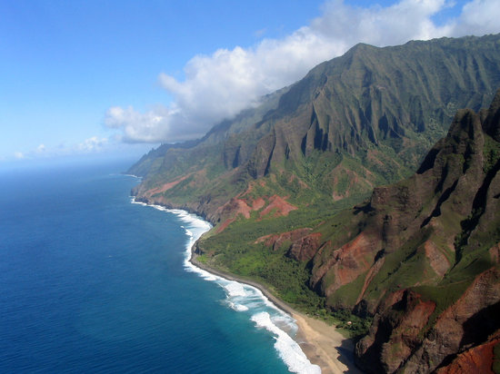 Hawaii: Napali coast