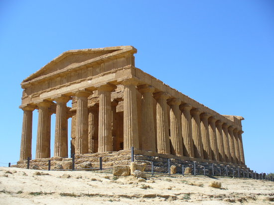Agrigento, Itali: Tempio della Concordia