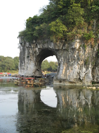 Guilin, Chine : Elephants Trunk Hill 
