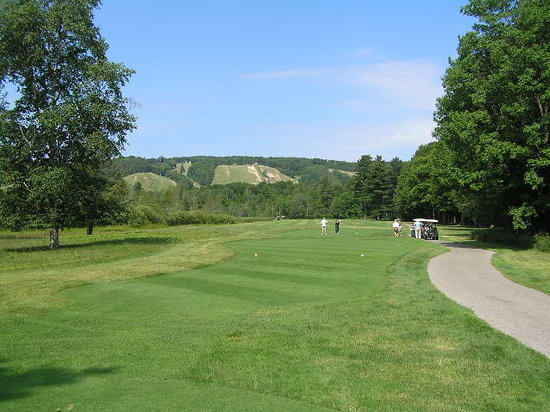 Harbor Springs, Μίσιγκαν: Heather Golf Course, Boyne Highlands