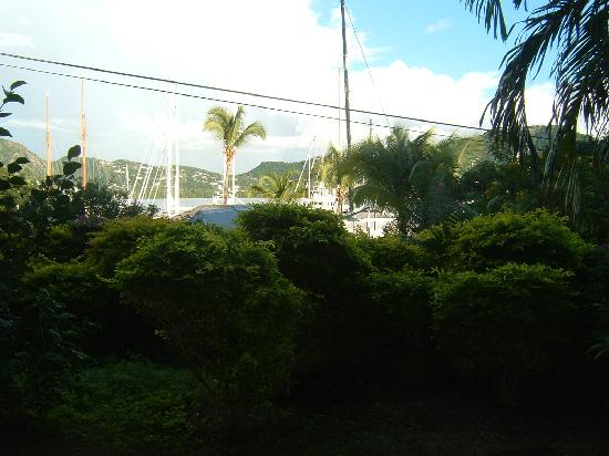 Antigua Yacht Club Marina Resort: View from terrace