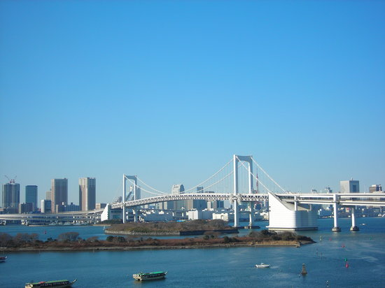 Japon : Bridge,Odaiba 