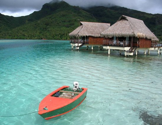 Bora-Bora, Polynésie française : Over-the-water Bungalows