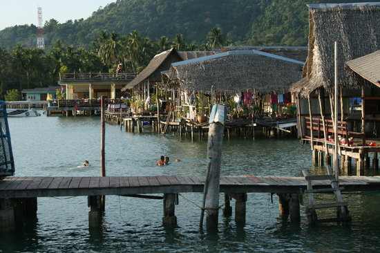 Ko Chang, Thailand: bang bao fishing villiage
