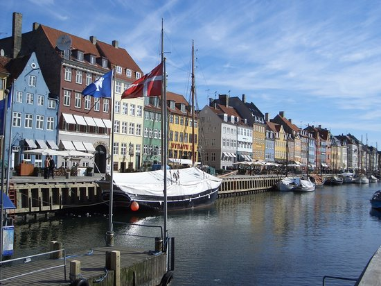 Kopenhaga, Dania: Nyhavn