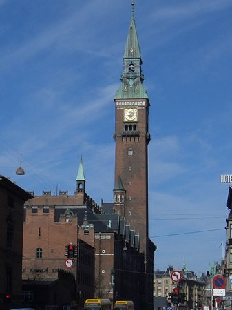 Copenhague, Danemark : Copenhagen Radhus 