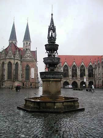 Braunschweig, Germany: city center 1