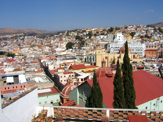 Guanajuato, Meksika: view from El Pipillo