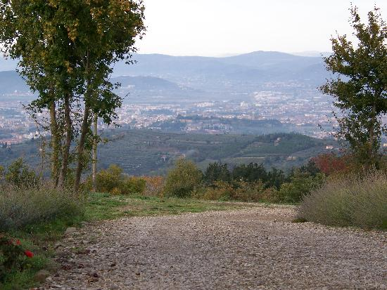 Badia di Pomaio : Vista from the drive