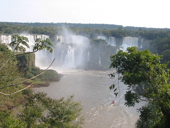Puerto Iguazu, Argentina: Main Falls