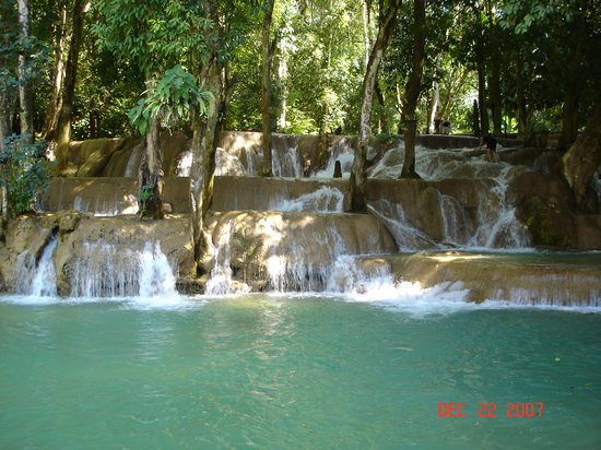 Luang Prabang, Laos: Tad Sae Falls