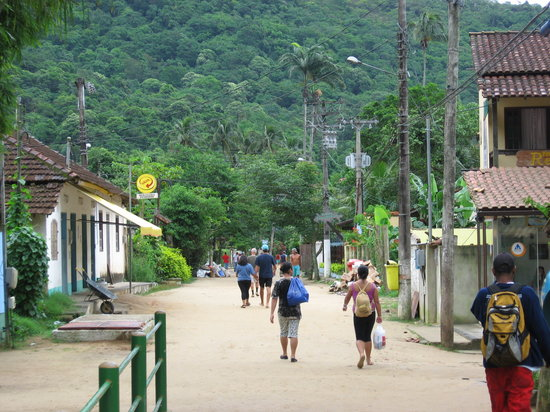 Ilha Grande, RJ: Main Street