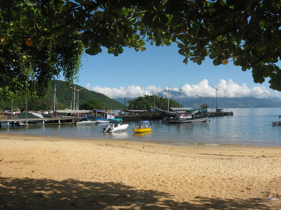 Ilha Grande, RJ: Village beach