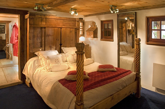 Les Chalets de Philippe : Notre chambre 