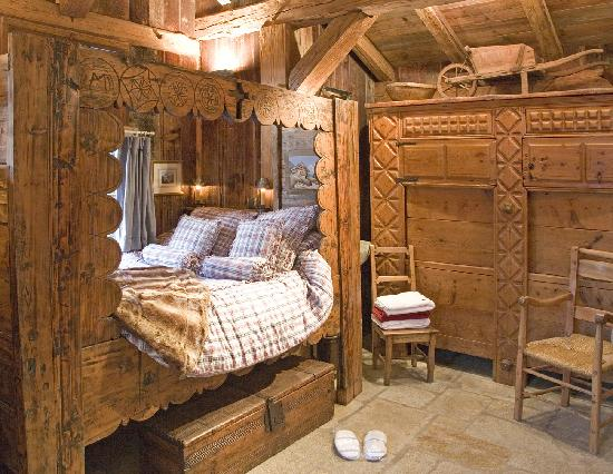 Les Chalets de Philippe : La chambre de nos amis 