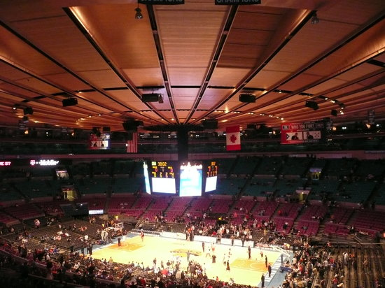 Inside for Address of madison square garden