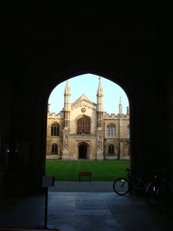 Cambridge, UK: Corpus Christie