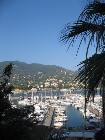 Рапалло, Италия: Rapallo from the hotel