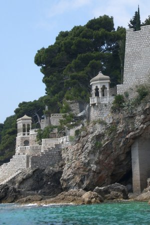 Dubrovnik, Croatia: view from the touring boat in harbour