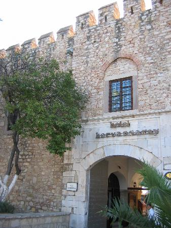 Club Kervansaray: The entrance