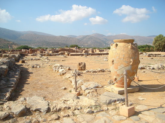 Ruins of Palace at Malia