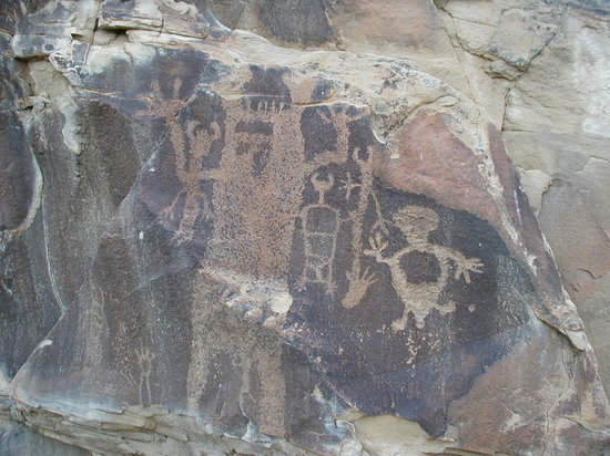 Thermopolis, WY: Petroglyphs