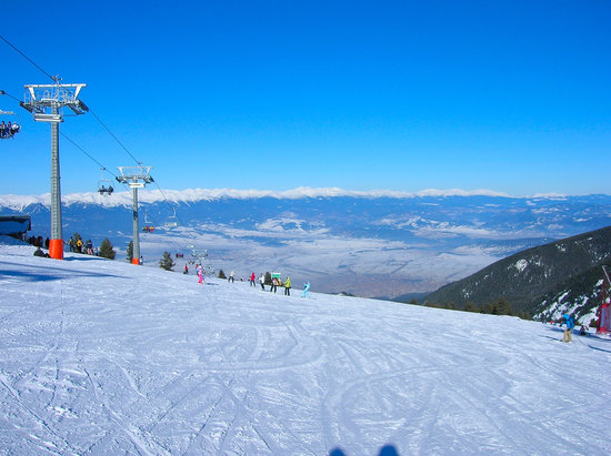 View Of Bansko