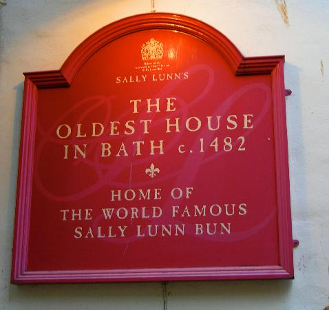 Our meal at Sally Lunn's - Picture of Sally Lunn's Museum, Bath ...