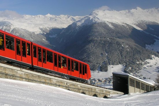 Davos, The Parsenn Bahn
