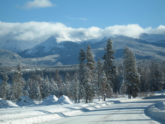 Winter Park, : Driving around Fraser