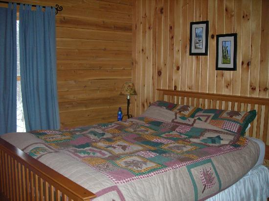 Rangeley, ME: The Master Bedroom