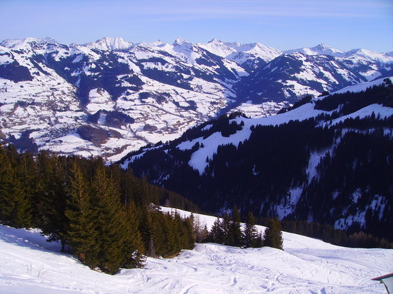 Kitzbühel, Autriche : Fantastic views