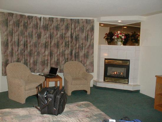 Leduc, Canada: In Room Fireplace