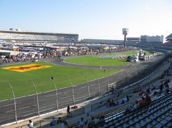 The Late Model Pits Picture Of Charlotte Motor Speedway