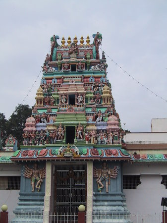 Penang, Malezya: Hindu Temple - Little India Gergetown