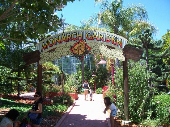 Gilroy, Kalifornien: Entrance to the Monarch Butterfly Garden