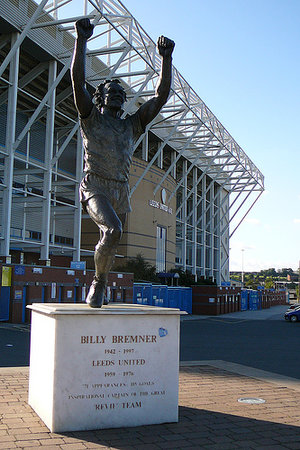 Leeds United F.C. Stadium: Billy                                   Bremner Statue