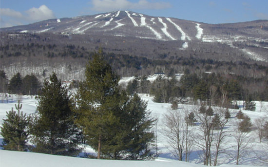 Ludlow, Вермонт: view from the retreat